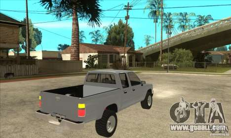 Toyota Hilux CD for GTA San Andreas right view