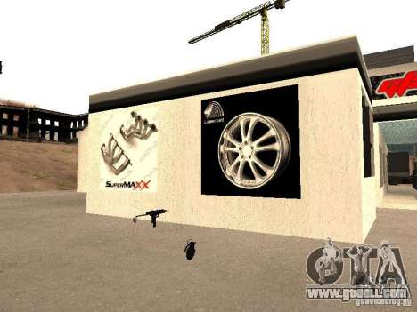 GRC garage in SF for GTA San Andreas sixth screenshot