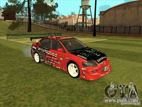 Mitsubishi Evo 9 Touge Union for GTA San Andreas right view