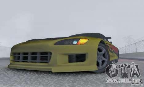 Honda S2000 Tunable for GTA San Andreas right view