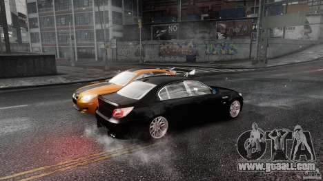 BMW M5 e60 Emre AKIN Edition for GTA 4 back view
