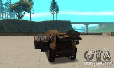 Land Rover Freelander KV6 for GTA San Andreas inner view