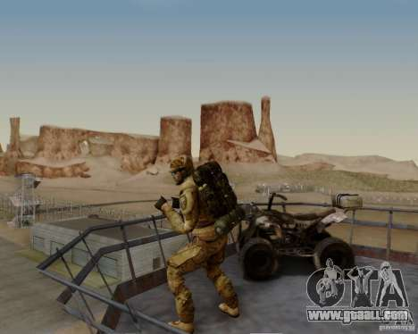 Tom Clancys Ghost Recon for GTA San Andreas seventh screenshot