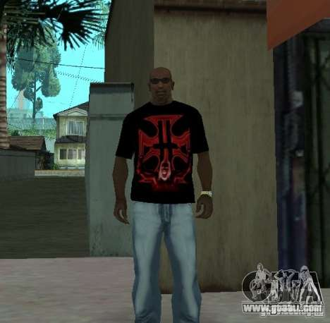 Triple-H T-shirt for GTA San Andreas