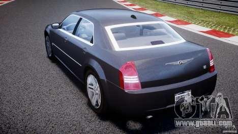 Chrysler 300C 2005 for GTA 4 back left view
