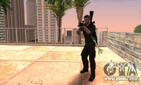 Sam Fisher for GTA San Andreas sixth screenshot