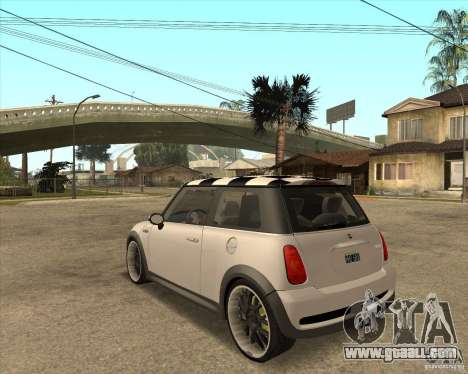 Mini Cooper for GTA San Andreas left view