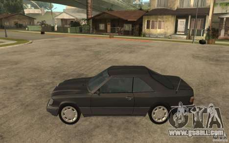 Mercedes-Benz 320CE C124 for GTA San Andreas left view