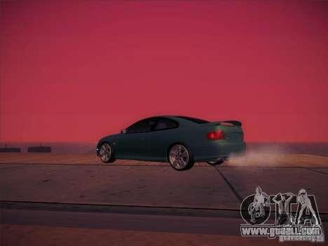 Pontiac FE GTO for GTA San Andreas side view
