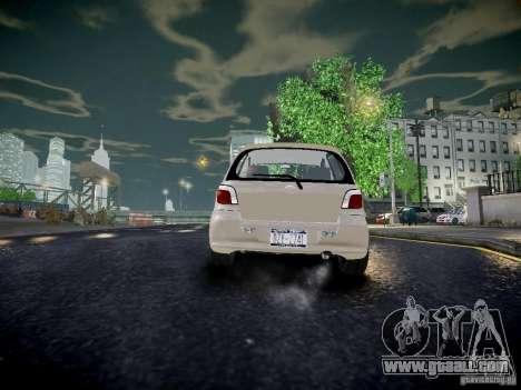 Toyota Vitz for GTA 4 back left view