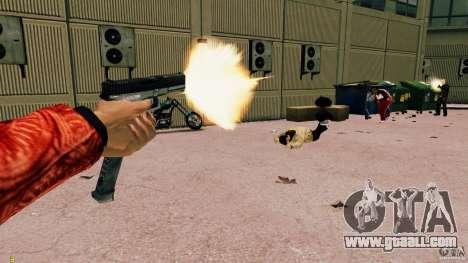 Glock 18 Akimbo (black/grey) for GTA 4 forth screenshot