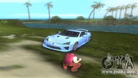 Lexus LFA for GTA Vice City