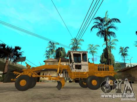 Grader for GTA San Andreas left view