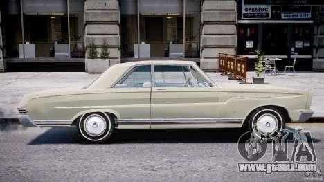 Ford Mercury Comet 1965 for GTA 4 interior