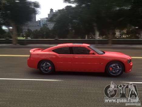 Dodge Charger SRT8 2006 for GTA 4 inner view