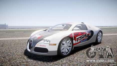 Bugatti Veyron 16.4 v1 for GTA 4 back view
