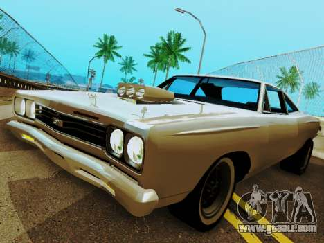Plymouth GTX for GTA San Andreas right view