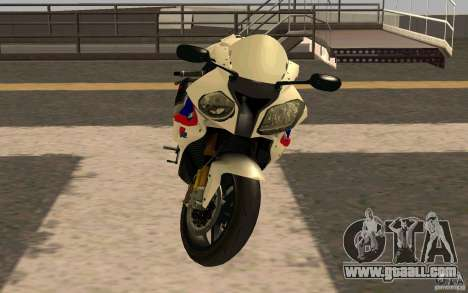 BMW S1000RR City Version for GTA San Andreas left view