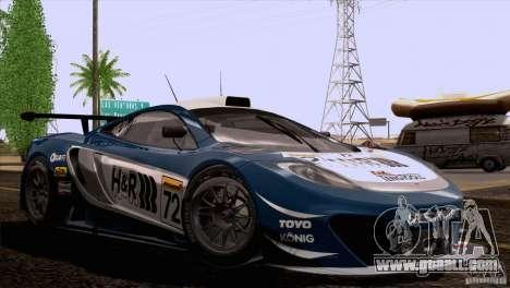McLaren MP4-12C Speedhunters Edition for GTA San Andreas wheels
