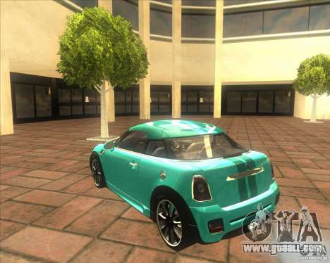Mini Coupe 2011 Concept for GTA San Andreas right view