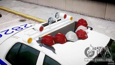 Ford Crown Victoria NYPD for GTA 4 interior