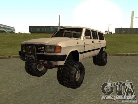 31022 Volga GAS 4 x 4 for GTA San Andreas