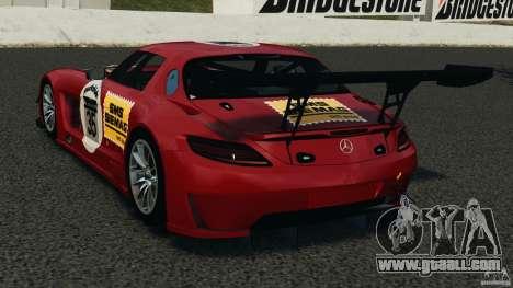 Mercedes-Benz SLS AMG GT3 2011 v1.0 for GTA 4 back left view