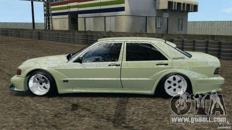 Mercedes-Benz 190E 2.3-16 sport for GTA 4 left view