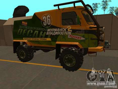 UAZ 2206 Expedition for GTA San Andreas left view