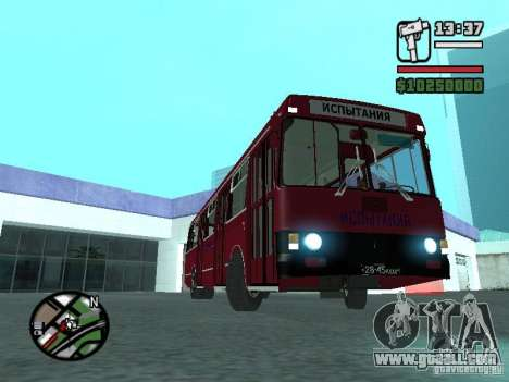 LAZ 5252 for GTA San Andreas side view