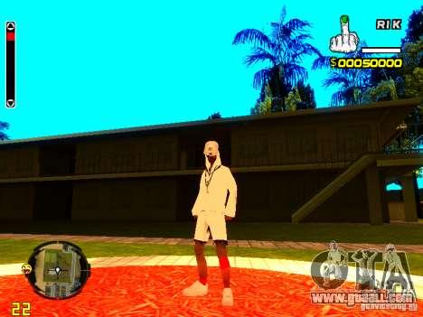 Skin bum v9 for GTA San Andreas third screenshot