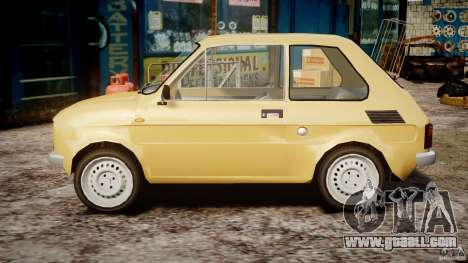 Fiat 126p 1976 for GTA 4 left view