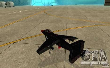 Black Hydra v2.0 for GTA San Andreas right view
