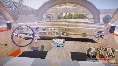 AMC Matador Hazzard County Sheriff [ELS] for GTA 4 back view