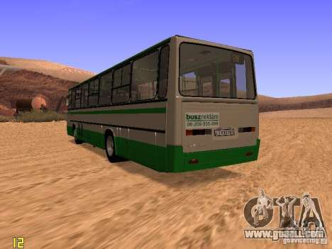 Ikarus C63 for GTA San Andreas back left view