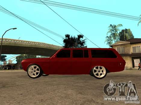 GAZ 24-12 for GTA San Andreas left view
