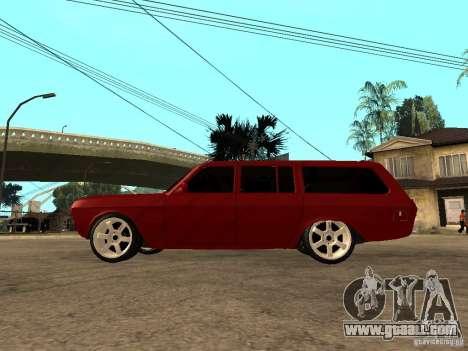 GAZ 24-12 for GTA San Andreas left view