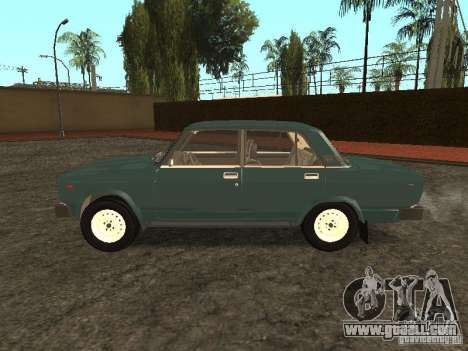 VAZ 2105 v. 2 for GTA San Andreas left view