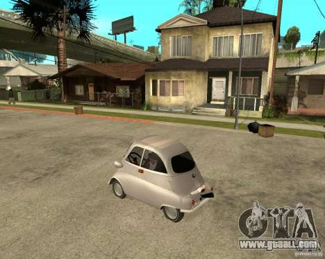 BMW Isetta for GTA San Andreas left view