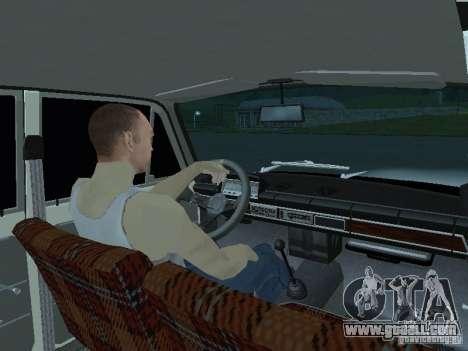 Vaz 2101 White Kids for GTA San Andreas back left view