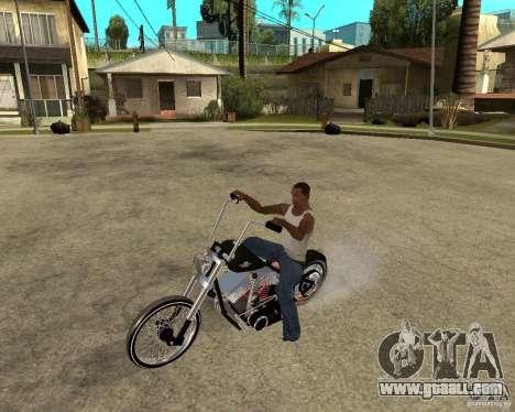 C&C chopeur for GTA San Andreas