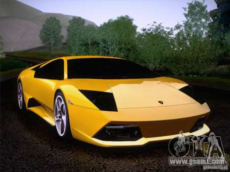 Lamborghini Murcielago LP640 for GTA San Andreas