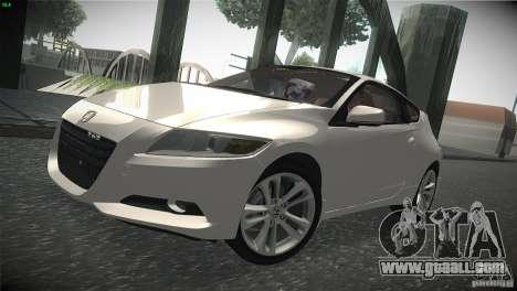Honda CR-Z 2010 V1.0 for GTA San Andreas left view