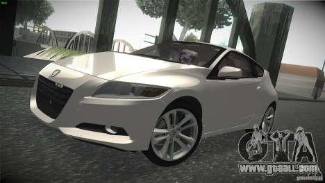 Honda CR-Z 2010 V1.0 for GTA San Andreas left view