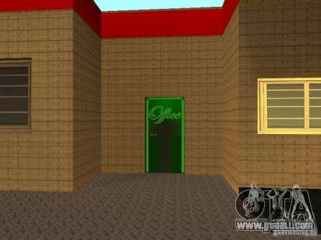 The Ferrari garage in Dorothy for GTA San Andreas third screenshot