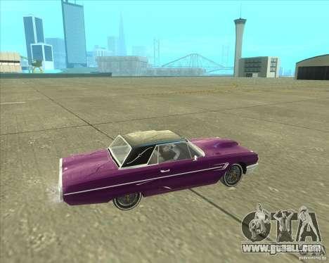 Ford Thunderbird 1964 for GTA San Andreas right view
