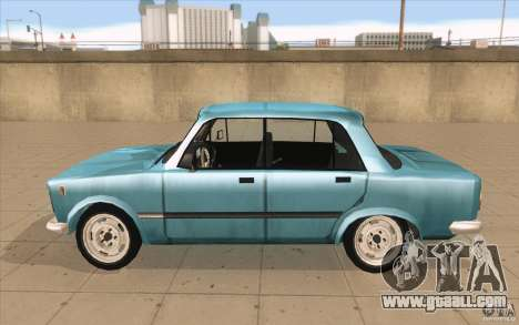 Fiat 125p for GTA San Andreas left view