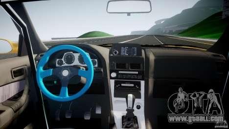 Nissan Skyline R34 GT-R Tezuka Goodyear D1 Drift for GTA 4 upper view