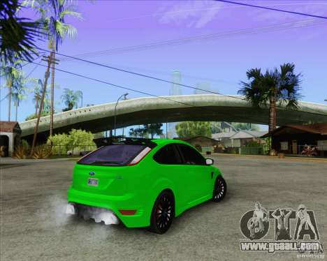 Ford Focus RS for GTA San Andreas side view