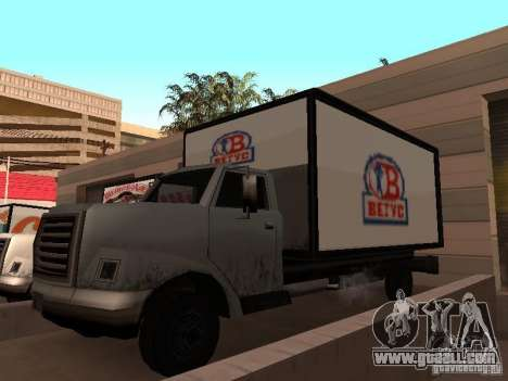 Yankee RUS for GTA San Andreas right view